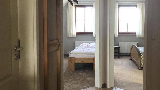 Ferienwohnung Ostseebad Wustrow · Noorderfeld OG · Blick in die Schlafzimmer