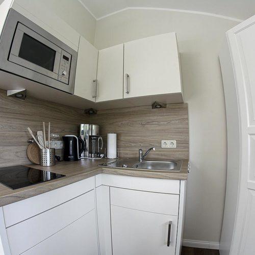 Pantryküche im Strandheim · Appartement
